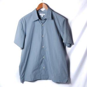 Banana Republic Slim Fit Size L Short Sleeve Shirt